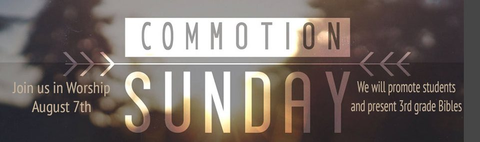 Commotion Sunday
